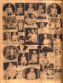 Photomontage of babies and children of Tennessee families, a kiddie band, and four ads. Nashville...