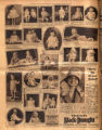 Photomontage of children of Tennessee families and two ads. Nashville Banner, 1930 October 12.