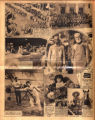 Photomontage of a United Confederate Veteran Convention, President Hoover in Cleveland, Ohio, a...