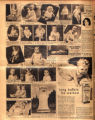Photomontage of children of Tennessee families and four ads. Nashville Banner, 1930 October 19.
