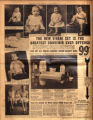 Photomontage of children of Tennessee families and one large ad. Nashville Banner, 1931 October 11.