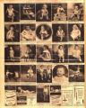 Photomontage of children of Tennessee families and three ads. Nashville Banner, 1931 August 30.