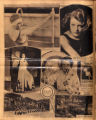 Photomontage of actresses, German college students, a park in Nashville, and an ad. Nashville...
