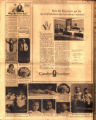 Photomontage of babies, children, and four ads. Nashville Banner, 1926 April 11.