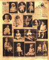 Photomontage of babies, children, and two ads. Nashville Banner, 1926 January 31.