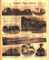 Photomontage of an agricultural research center near Columbia, Tennessee.  Nashville Banner, 1926...
