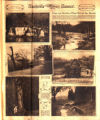 Photomontage of soft-focus landscapes in middle Tennessee. Nashville Banner, 1926 February 28.
