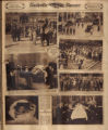 Photomontage of Nashville boosters, Shriners, prohibitionists, a fire, a Labor Day celebration,...