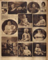 Photomontage of babies and children and two ads. Nashville Banner, 1926 July 4.