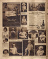 Photomontage of babies and children and four ads. Nashville Banner, 1926 July 18.