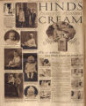 Photomontage of babies and children and two ads. Nashville Banner, 1926 July 25.
