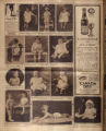 Photomontage of babies and children and two ads. Nashville Banner, 1926 August 22.