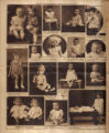 Photomontage of babies and children. Nashville Banner, 1927 January 2.