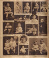 Photomontage of babies and children and one ad. Nashville Banner, 1927 January 9.