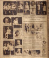 Photomontage of babies and children and one ad. Nashville Banner, 1927 January 16.