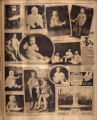 Photomontage of babies and children and three ads. Nashville Banner, 1927 August 21.