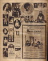 Photomontage of babies and children, and four ads. Nashville Banner, 1927 April 17.