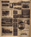Photomontage of ads for Murfreesboro businesses and institutions, and two photos of the Public...