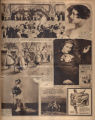 Photomontage of Democratic leaders, female entertainers, a child dressed as a bride, and three ads. Nashville Banner,...